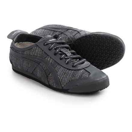 ASICS Onitsuka Tiger Mexico 66 Sneakers (For Women) in Dark Grey/Dark Grey - Closeouts