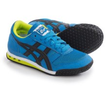 ASICS Onitsuka Tiger Ultimate 81 PS Running Shoes (For Little and Big Kids) in Blue/Black - Closeouts