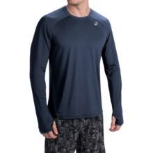 ASICS PR Lyte Shirt - Long Sleeve (For Men) in Dark Cobalt - Closeouts