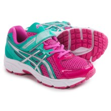 ASICS PRE Contend 2 PS Running Shoes (For Little and Big Kids) in Pink/Lightning/Emerald - Closeouts