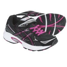 Asics Pre-Galaxy 5 PS Running Shoes (For Kids) in Black/Pink/White - Closeouts