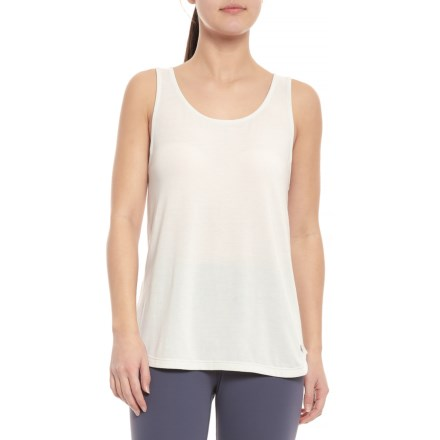 21f3f16d0e6b48 ASICS Quick-Dry Racerback Tank Top (For Women) in Glacier Grey - Closeouts