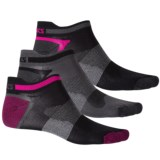 ASICS Quick Lyte Single Tab No-Show Socks - 3-Pack, Below the Ankle (For Men and Women)