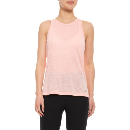 f4f8c4db8f3d46 ASICS Racerback Tank Top (For Women) in Frosted Rose