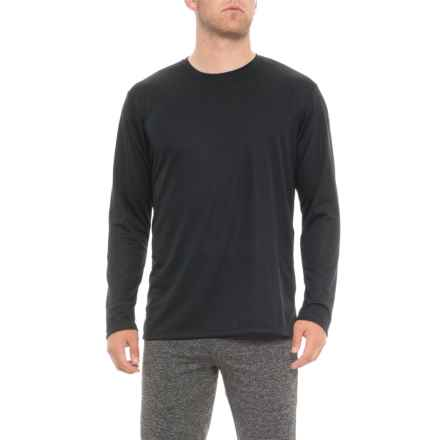 ASICS Ready Set Shirt - Long Sleeve (For Men) in Black - Closeouts