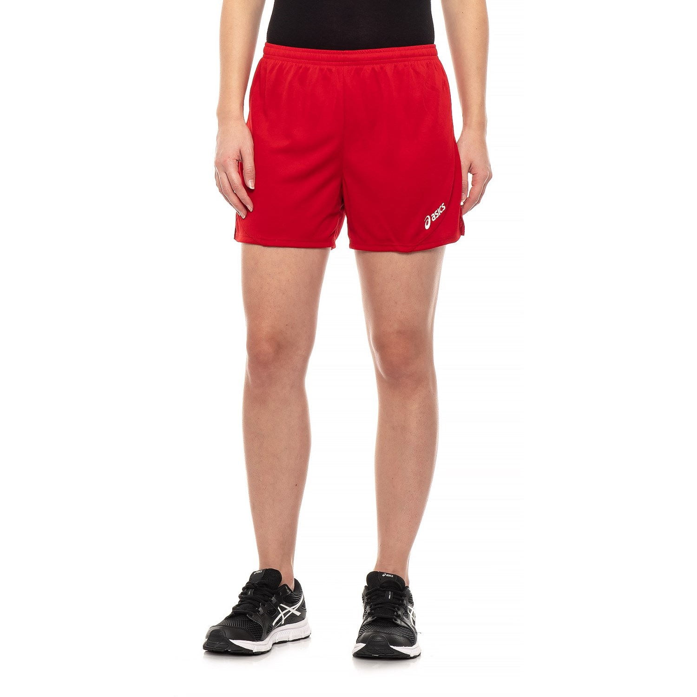 asics shorts women