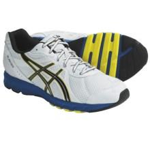 Asics Rush33 Running Shoes (For Men) in White/Black/Brilliant Blue - Closeouts