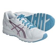 Asics Rush33 Running Shoes (For Women) in White/Wineberry/Turquoise - Closeouts