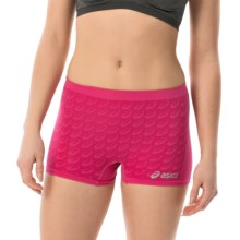 ASICS Seamless Panties - Boy Shorts (For Women) in Ultra Pink - Closeouts