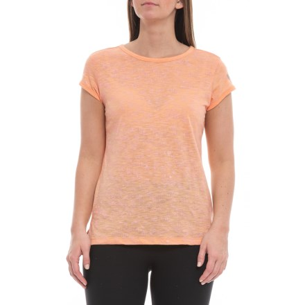 9057c738 ASICS Simple Lightweight T-Shirt - Short Sleeve (For Women) in Apricot Ice