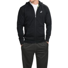 ASICS Sport Performance Fleece Hoodie (For Men) in Black/Black - Closeouts