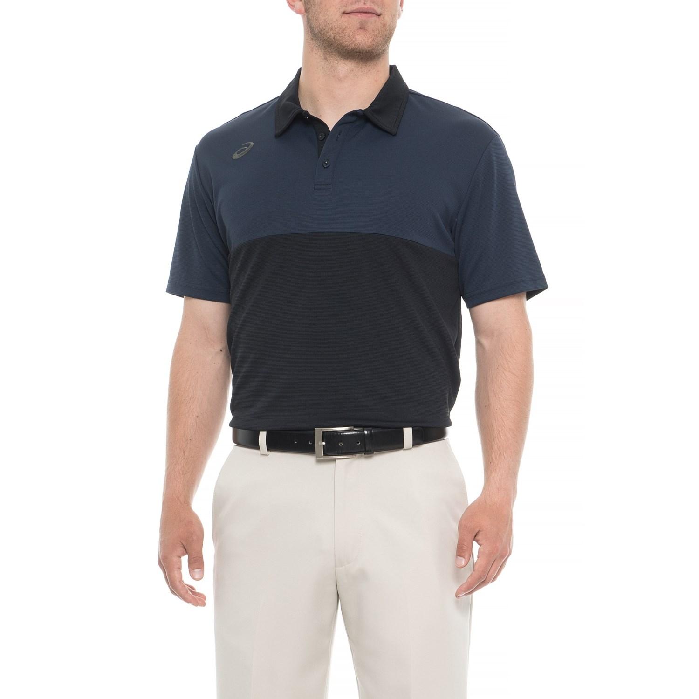 5eeda3a3f ASICS State Training Golf Polo Shirt (For Men) - Save 78%