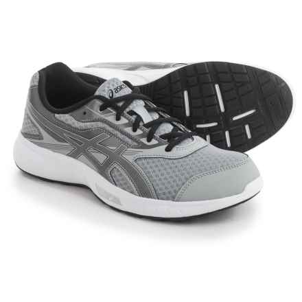 ASICS Stormer Running Shoes (For Men) in Midgrey/Black/Carbon - Closeouts