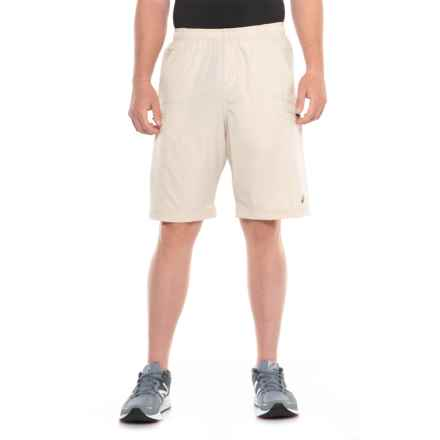 b279411741 ASICS Team Cargo Running Shorts (For Men) in Stone - Closeouts