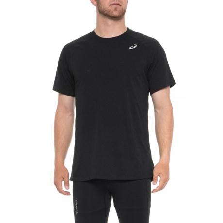 d99f2fbde057d9 ASICS Team Essential Training T-Shirt - Short Sleeve (For Men) in Black