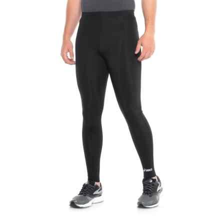 ASICS Team Medley Running Tights (For Men) in Black - Closeouts