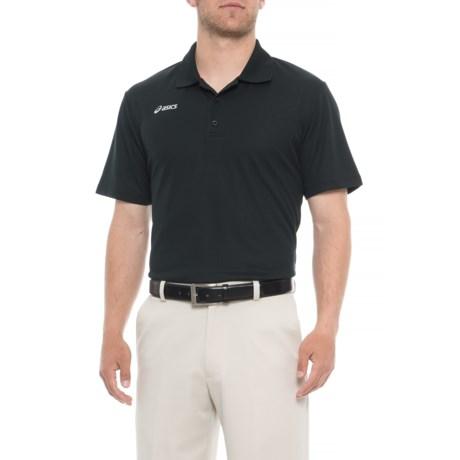 3c13e71ab823 ASICS Team-Performance Polo Shirt - Short Sleeve (For Men) in Black