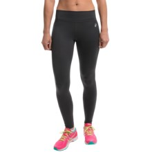 ASICS Thermopolis Running Tights (For Women) in Black/Black - Closeouts