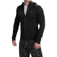 ASICS Training Jacket - Full Zip, Hooded (For Men) in Performance Black - Closeouts