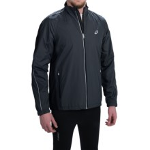 ASICS Wind Jacket (For Men) in Dark Grey - Closeouts