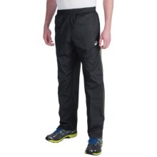 ASICS Wind Pants (For Men) in Black/Black - Closeouts