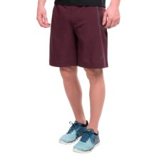 "ASICS Woven 9"" Shorts (For Men) in Rouge Noir - Closeouts"