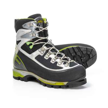 Asolo 6B+ GV Gore-Tex® Mountaineering Boots - Waterproof (For Women) in Black/Green - Closeouts