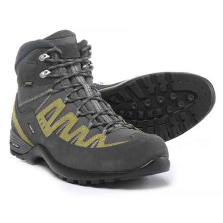 Asolo Ace GV Gore-Tex® Hiking Boots - Waterproof (For Men) in Graphite/Stone - Closeouts