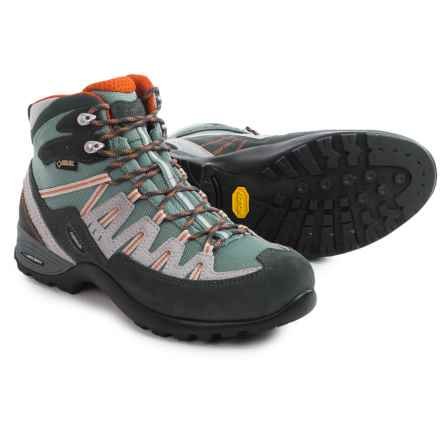 Asolo Ace GV Gore-Tex® Hiking Boots - Waterproof (For Women) in Graphite/Stormy Sea - Closeouts