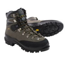 Asolo Aconcagua Gore-Tex® Mountaineering Boots - Waterproof (For Men) in Graphite/Black - Closeouts