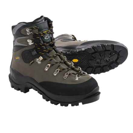 93c7404728f684 Asolo Aconcagua Gore-Tex® Mountaineering Boots - Waterproof (For Men) in  Graphite