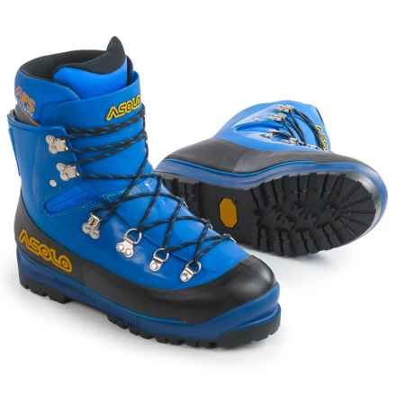 Asolo AFS Evoluzione Mountaineering Boots (For Men) in Royal - Closeouts