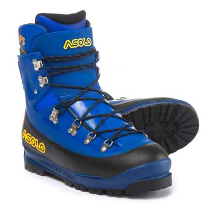 Asolo AFS Evoluzione Mountaineering Boots - Thermoplastic Shell, Liner (For Men) in Royal/Royal - 2nds