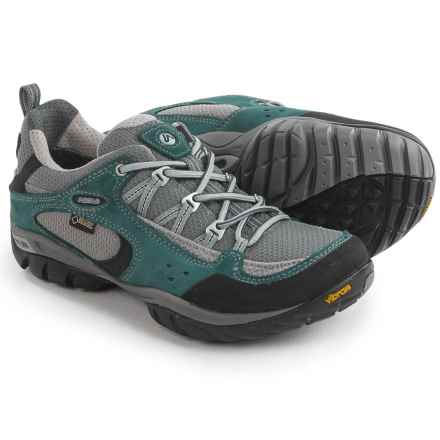 Asolo Alias Gore-Tex® Hiking Shoes - Waterproof (For Women) in Petroleum - Closeouts