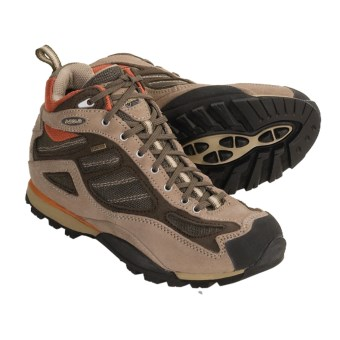 Asolo Amazon GV Gore-Tex® Hiking Boots - Waterproof (For Women) in Cream/Major Brown