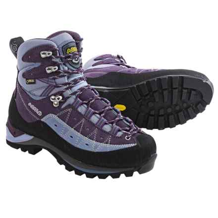 Asolo Ascender GV Gore-Tex® Mountaineering Boots - Waterproof (For Women) in Dark Plum - Closeouts