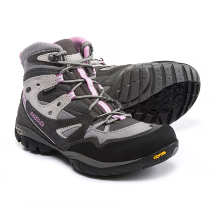 b24f87d17091 Asolo Athena Hiking Boots - Waterproof (For Women) in Graphite/Titanium -  Closeouts