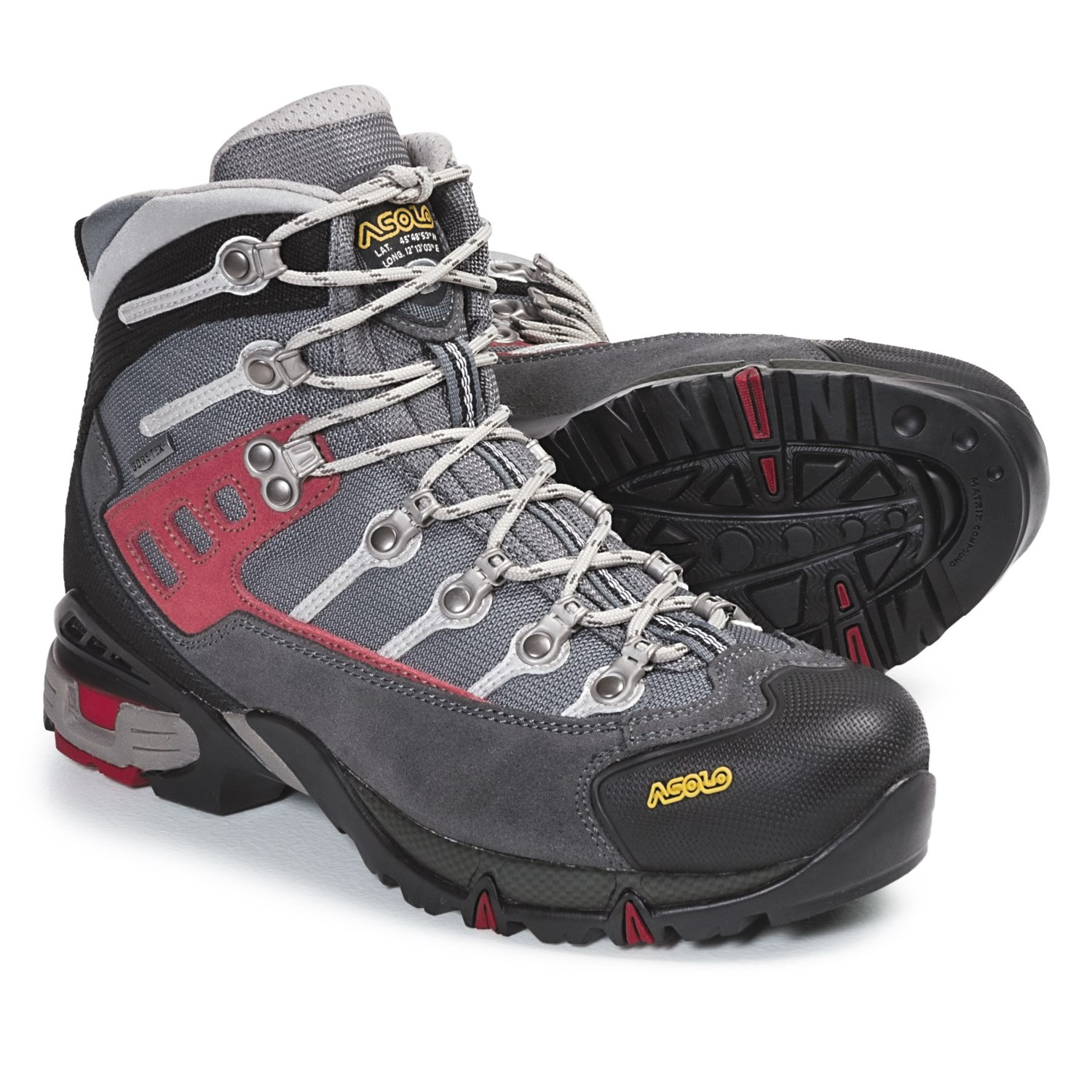 asolo atlantis tex hiking boots for save 41