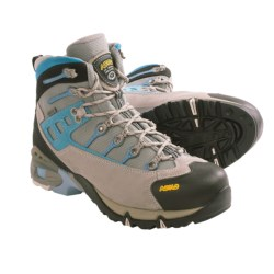 Asolo Atlantis Gore-Tex® Hiking Boots - Waterproof (For Women) in Light Grey/Light Grey