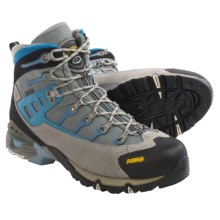 Asolo Atlantis Gore-Tex® Hiking Boots - Waterproof (For Women) in Light Grey/Light Grey - Closeouts