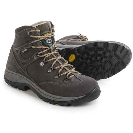 Asolo Aura Gore-Tex® Hiking Boots - Waterproof, Suede (For Women) in Elephant - Closeouts
