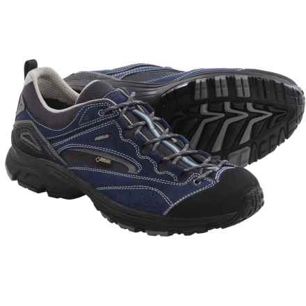 Asolo Bionic Gore-Tex® Approach Shoes - Waterproof (For Men) in Deep Blue/Cendre - Closeouts