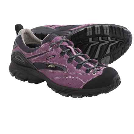 Asolo Bionic Gore-Tex® Approach Shoes - Waterproof (For Women) in Grapeade/Cendre - Closeouts
