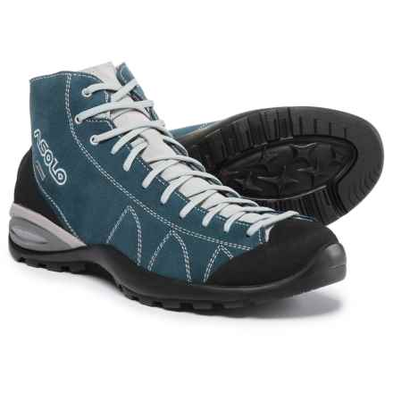 Asolo Cactus Gore-Tex® Suede Hiking Boots - Waterproof (For Men) in Denim Blue - Closeouts