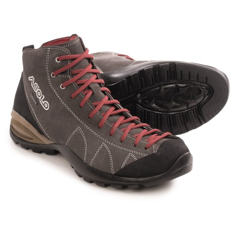 Asolo Cactus Gore-Tex® Suede Hiking Boots - Waterproof (For Men) in Elephant