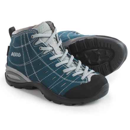 Asolo Carson Gore-Tex® Hiking Boots - Waterproof (For Little and Big Kids) in Denim Blue - Closeouts