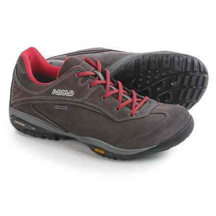 Asolo Digital Gore-Tex® Hiking Shoes - Waterproof, Suede (For Women) in Elephant - Closeouts