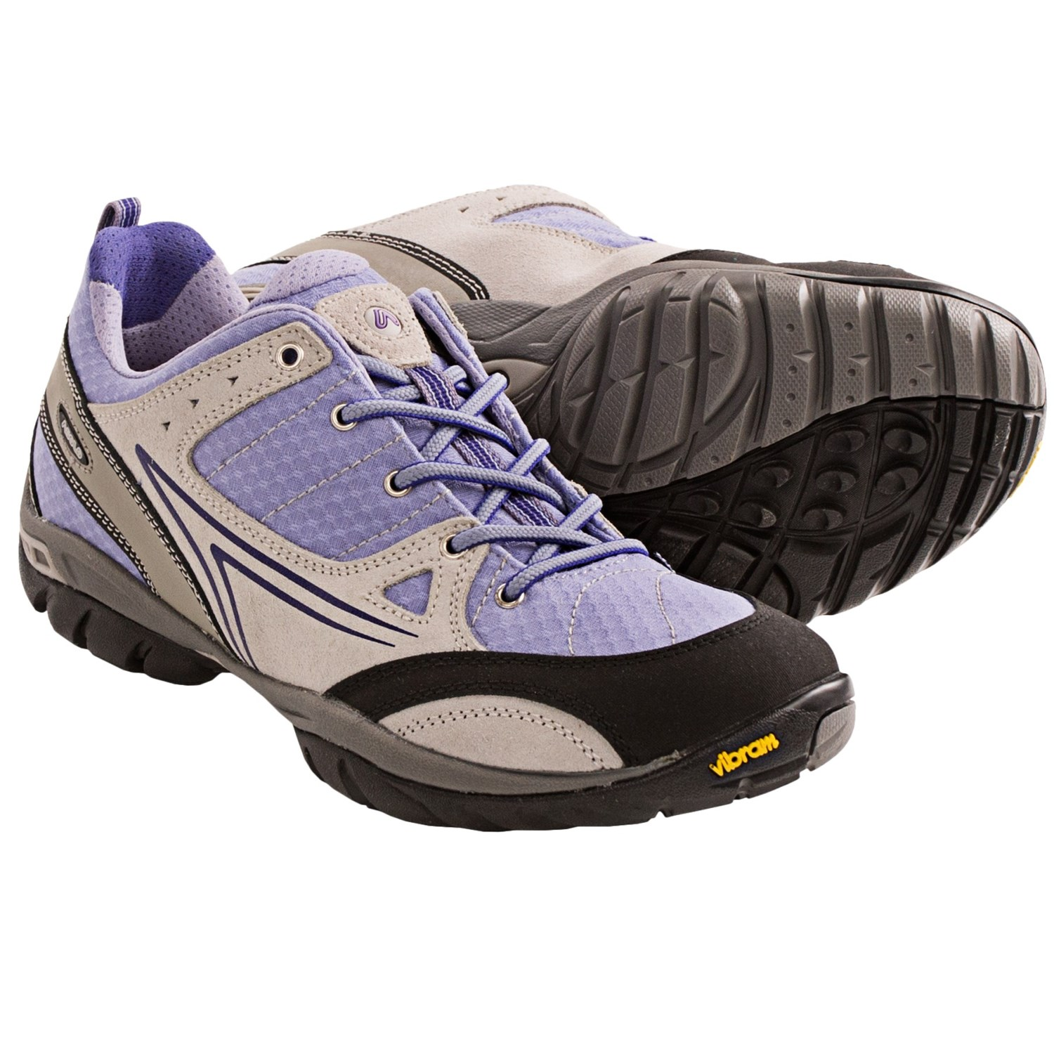 Asolo Dome Hiking Shoes (For Women) in Silver/Cloudy Lillac