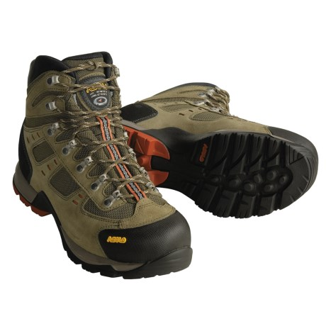 Asolo Echo Hiking Boots (For Men) in Tundra/Black