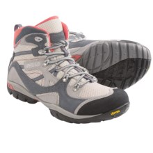 Asolo Ellery ML Hiking Boots (For Women) in White/Grey - Closeouts